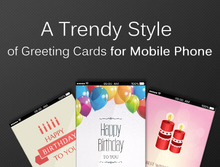 A Trendy Style Of Greeting Cards For Mobile Phone Unlike Original Paper Here Introduces Complete Novel And Advanced Kind Animated
