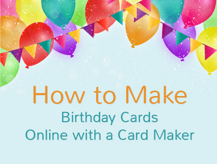 tutorial on how to make interactive birthday cards online with amolink, Birthday card