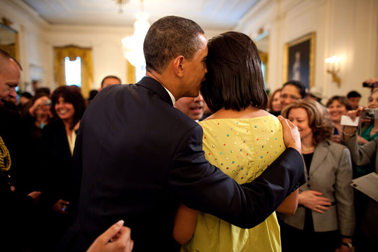 Barack and Michelle Obama pic 14