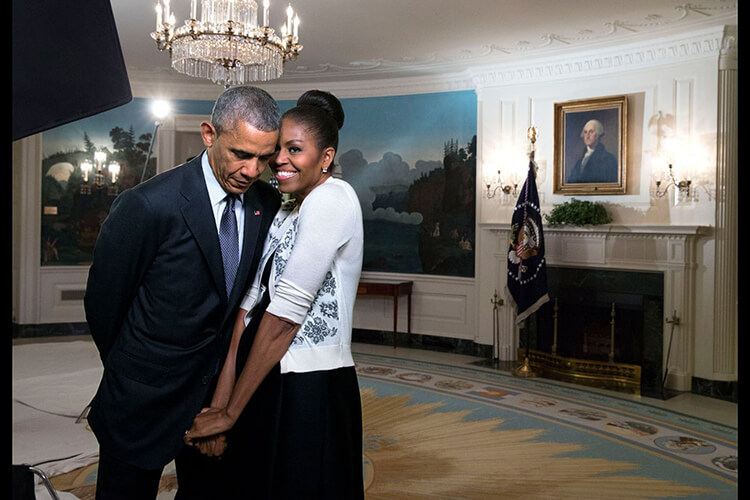Barack and Michelle Obama pic 16