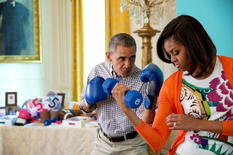 Barack and Michelle Obama pic 20