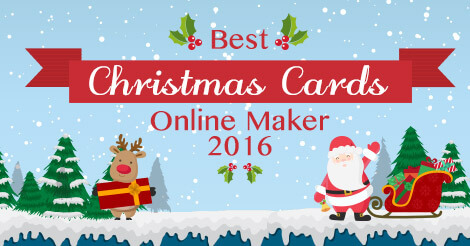 Best Christmas Cards Online Maker 2016