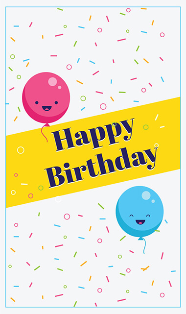 birthday card template 1