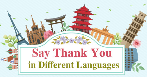 How to Say Thank You in Different Languages - AmoLink