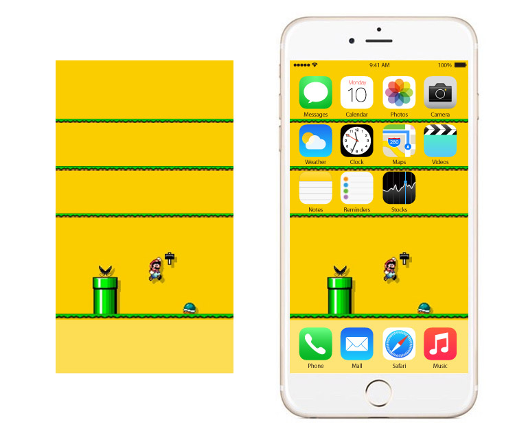 Mario Wallpapers for iPhone 7